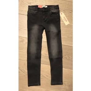 Levi's kids boys jeans broek extreme skinny 519 in de kleur zwart