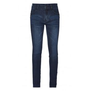 Retour jeans girls super skinny jeans broek Luus in de kleur dark denim blue