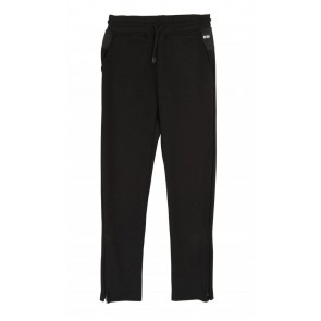 Hugo Boss kids boys sweatpants broek cotton track pants in de kleur zwart