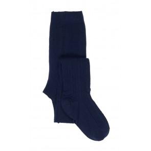 Le Big kabel maillot in de kleur donkerblauw