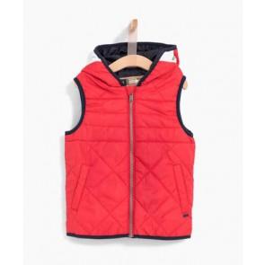 IKKS kids boys parka winterjas met bodywarmer 2in1 in de kleur donkerblauw