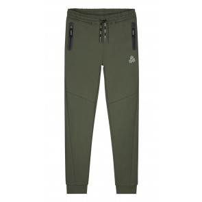 Nik en Nik Boys sweatpants Ferhat pants in de kleur army green groen