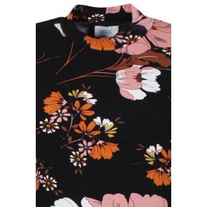 Dxel top met bloemenprint in de kleur multicolor