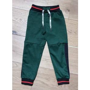 Iceberg kids boys sweatpants pantalone trilux in de kleur blauw/groen