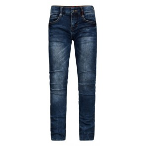 Retour Jeans Luigi skinny fit broek in de kleur used blue denim