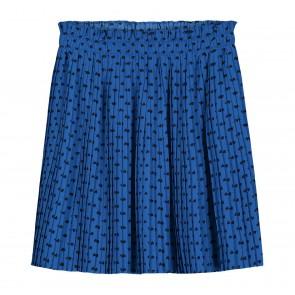 Nik en Nik kids girls Bibi Cayla rok hartjes print in de kleur kobaly blauw