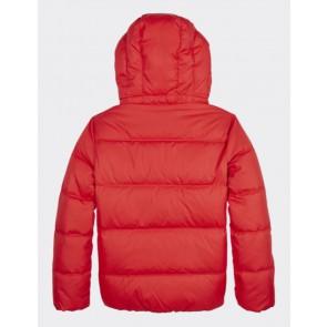 Tommy Hilfiger padded winterjas in de kleur rood
