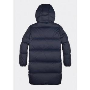 Tommy Hilfiger padded winterjas in de kleur donkerblauw