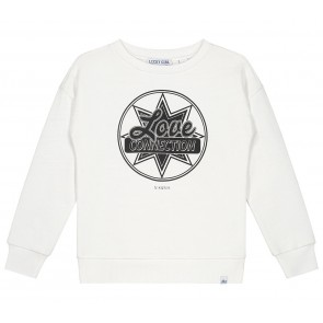 NIK en NIK Love Connection sweater trui in de kleur wit