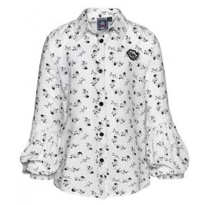 Retour Jeans Xamira blouse met print in de kleur wit