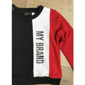 My Brand Junior sweater trui met logo in de kleur multicolor