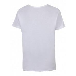 D-xel Nicca shirt Luxe in de kleur wit