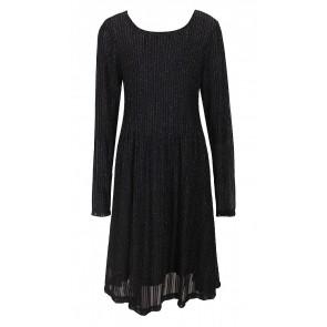 D-xel jurk Nicca glitter in de kleur zwart