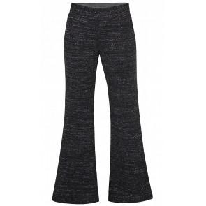 D-xel  flared broek Mona met glitters in de kleur zwart