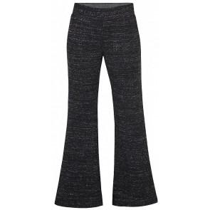 D-XEL flared pants broek met glitter in de kleur zwart