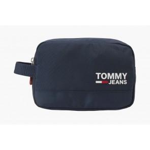 Tommy Hilfiger cool city washbag toilettas in de kleur donkerblauw