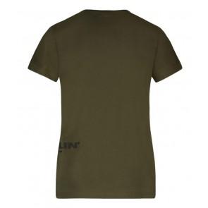Ballin Amsterdam t-shirt met logo in de kleur groen