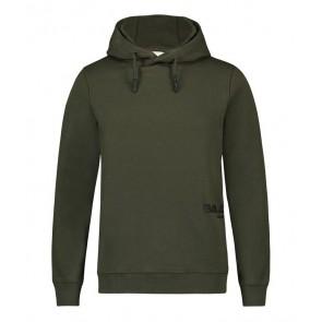 Ballin Amsterdam hoodie trui met logo in de kleur groen