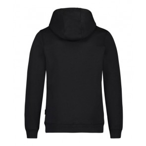 Ballin Amsterdam hoodie trui met logo in de kleur zwart