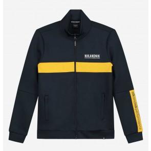 Nik en Nik boys Kody track jacket trainingsjasje in de kleur donkerblauw