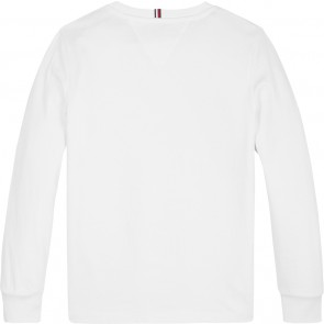 Tommy Hilfiger sweater trui met logo in de kleur wit