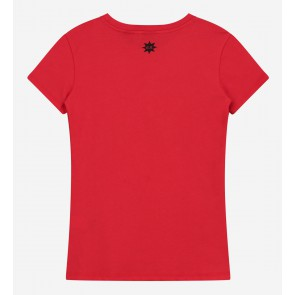 Nik en Nik girls Friday t-shirt in de kleur poppy red