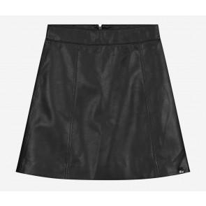 Nik en Nik girls imitatie leren rokje Cisly rok in de kleur zwart