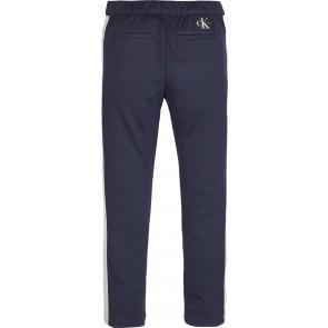Calvin Klein Jeans block sweatpants broek in de kleur donkerblauw