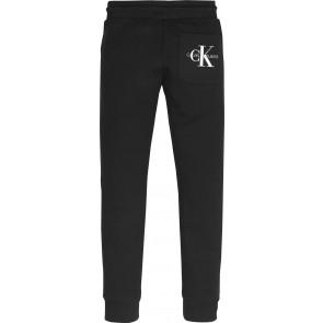 Calvin Klein Jeans sweatpants broek met logo in de kleur zwart