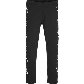 Calvin Klein Jeans legging met logo in de kleur zwart