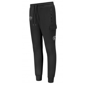 Black Bananas kids basic jogger sweatpants broek in de kleur zwart