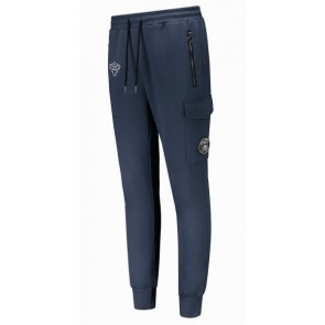 Black Bananas track pants sweat broek in de kleur donkerblauw