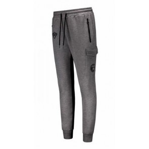 Black Bananas track pants sweat broek in de kleur antraciet grijs