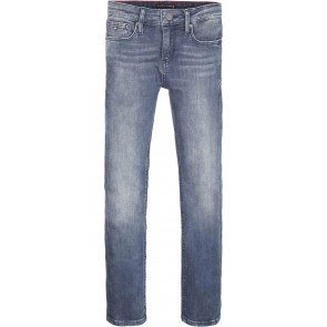 Tommy Hilfiger kids boys scanton slim jeans broek in de kleur blue stretch