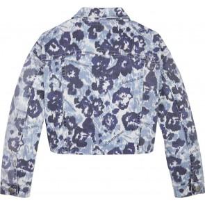 Calvin Klein Jeans jasje met flower print in de kleur blauw