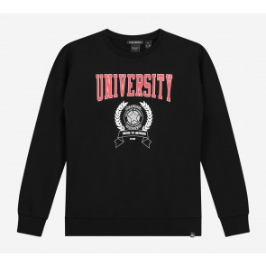NIK en NIK University sweater trui in de kleur zwart