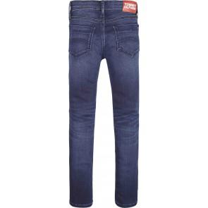 Tommy Hilfiger Scanton slim fit broek in de kleur jeansblauw