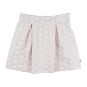 Rumbl Royal rok met stippen in de kleur zachtroze