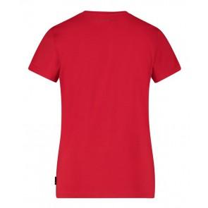 Ballin Amsterdam t-shirt met logo print in de kleur rood