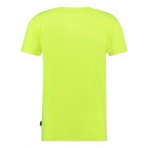 Ballin Amsterdam t-shirt original in de kleur fluor geel