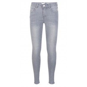 Indian blue jeans grey Jill flex skinny fit 2161 in de kleur grey denim grijs