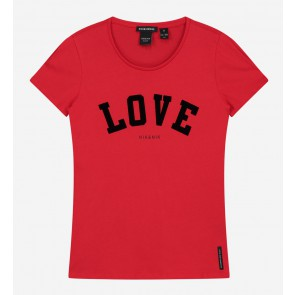 Nik en Nik Love t-shirt in de kleur Poppy red rood