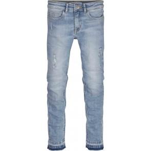 Calvin Klein kids girls skinny jeans luster in de kleur jeansblauw