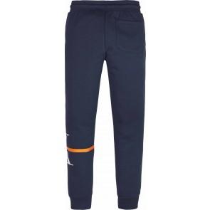 Calvin Klein kids monogram stripe sweatpants broek in de kleur donkerblauw