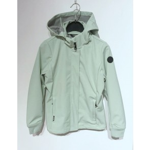 Airforce kids girls softshell jas jacket in de kleur mintgroen