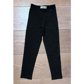 Hugo Boss kids girls legging in de kleur zwart