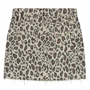 Circle of trust kids girls leopard skirt in de kleur bruin/beige