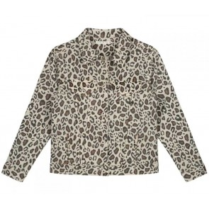 Circle of trust kids girls Thirza jacket leopard in de kleur bruin/beige