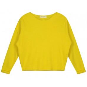 Circle of trust kids girls Zane knit in de kleur yellow sun geel