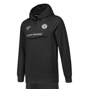 Black Bananas kids anorak hoodie sweater trui in de kleur zwart